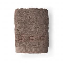Serviette invité 33x50 cm 100% coton 550 g/m2 PURE CADENA Marron Taupe