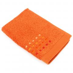 Serviette invité 33x50 cm 100% coton 550 g/m2 PURE PRIMAVERA Orange Butane
