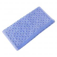 Serviette invité 33x50 cm SHIBORI mosaic Bleu 500 g/m2