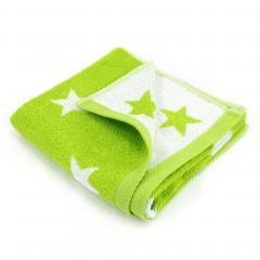 Serviette de toilette 50x100 cm 100% coton 480 g/m2 STARS Vert