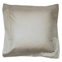 Taie d'oreiller uni 40x40 cm 100% coton ALTO Chamois