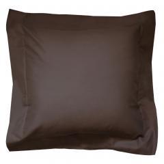 Taie d'oreiller uni 40x40 cm 100% coton ALTO Manganese