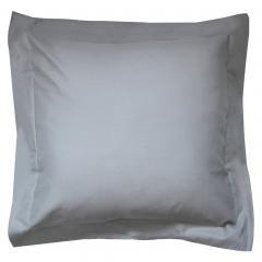 Taie d'oreiller uni 65x65 cm 100% coton ALTO Alu