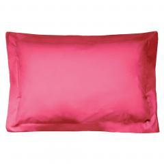 Taie d'oreiller uni 80x50 cm 100% coton ALTO Kerala