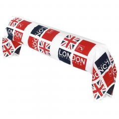Taie de traversin 200x43 cm 100% coton LONDON Union Jack
