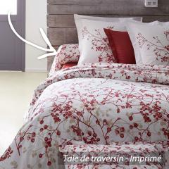 Taie de traversin 240x43 cm 100% coton BLOOM *** DÉSTOCKAGE ***