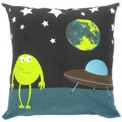 Taie d'oreiller 65x65 cm 100% coton MONSTERS