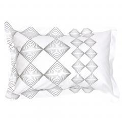 Taie d'oreiller 70x50 cm 100% coton FOREVER