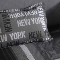 Taie d'oreiller 70x50 cm 100% coton NEW YORK