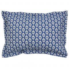 Taie d'oreiller 70x50 cm 100% coton RIO JADE bleu