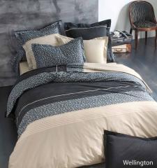 Taie d'oreiller 70x50 cm 100% coton WELLINGTON *DESTOCKAGE*