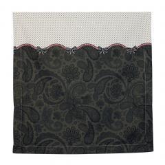 Taie d'oreiller 65x65 cm Percale pur coton SENSUEL *** DÉSTOCKAGE ***