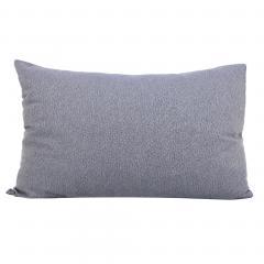Taie d'oreiller 70x50 cm Satin de coton VENDOME Bleu foncé