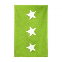 Tapis de bain 60x90 cm 100% coton 700 g/m2 STARS Vert