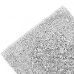 Tapis de bain 70X120 cm LUXOR Gris Calcium 2000 g/m2