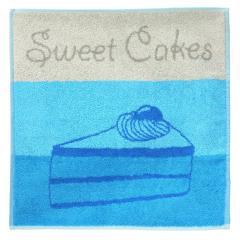 Torchon de cuisine éponge 50x50 cm CAKES Bleu