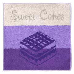 Torchon de cuisine éponge 50x50 cm CAKES Violet