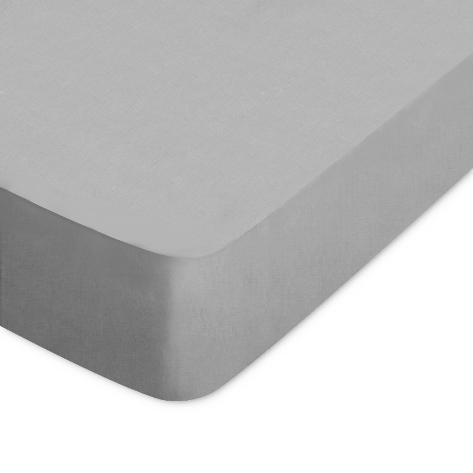 DRAP HOUSSE UNI 150x200 100% coton ALTO Alu   EUR 48,40 | PicClick FR