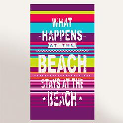 Sélection de drap de plage