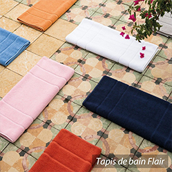 Sélection de tapis de bain XXL FLAIR 70x140