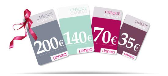 Les chèques cadeaux Linnea