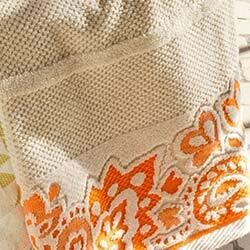 Collection linge de bain Anita Flowers